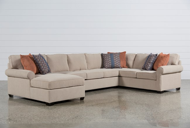 Camilla 3 Piece Sectional W Laf Chaise