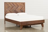 Sidney Queen Platform Bed - Signature