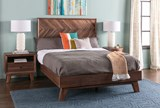 Sidney Queen Platform Bed - Room