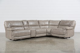 Marx Sahara 5 Piece Power Sectional W/Armless Chair