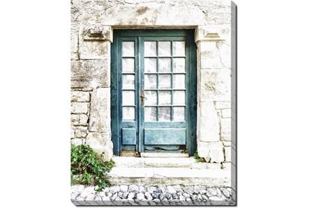 40X50 Turquoise Door - Main