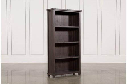 Espresso 4-Shelf Bookcase - Main