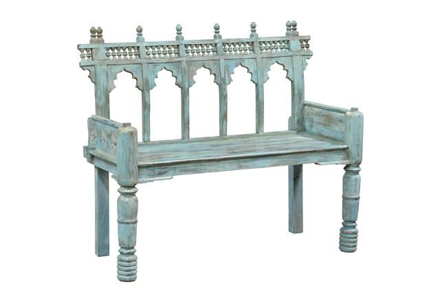 Blue Cart Bench - 360