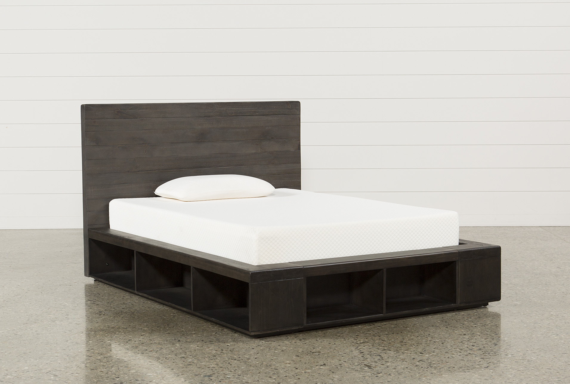 Dylan Full Platform Bed (Qty: 1) has been successfully added to your Cart. | Living Spaces