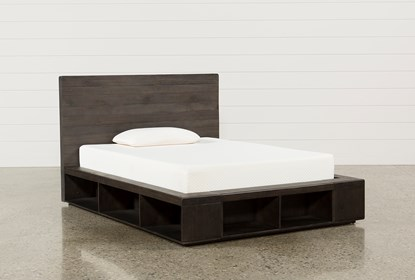 Dylan Full Platform Bed Living Spaces