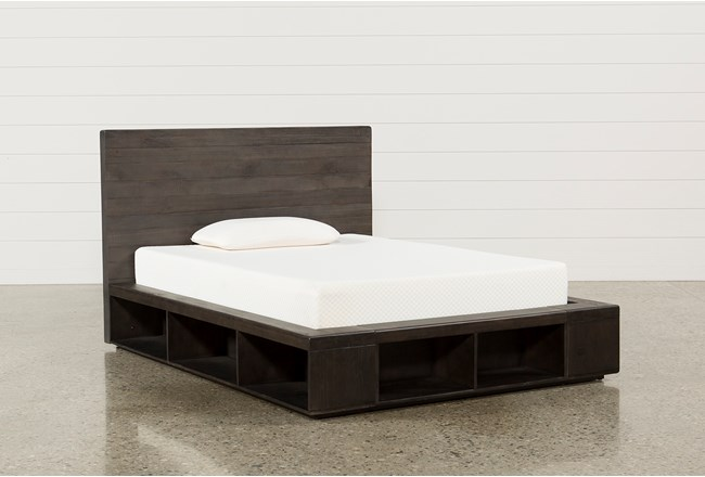 platform bed reviews rebecca furniture full upholstered pdp allmodern