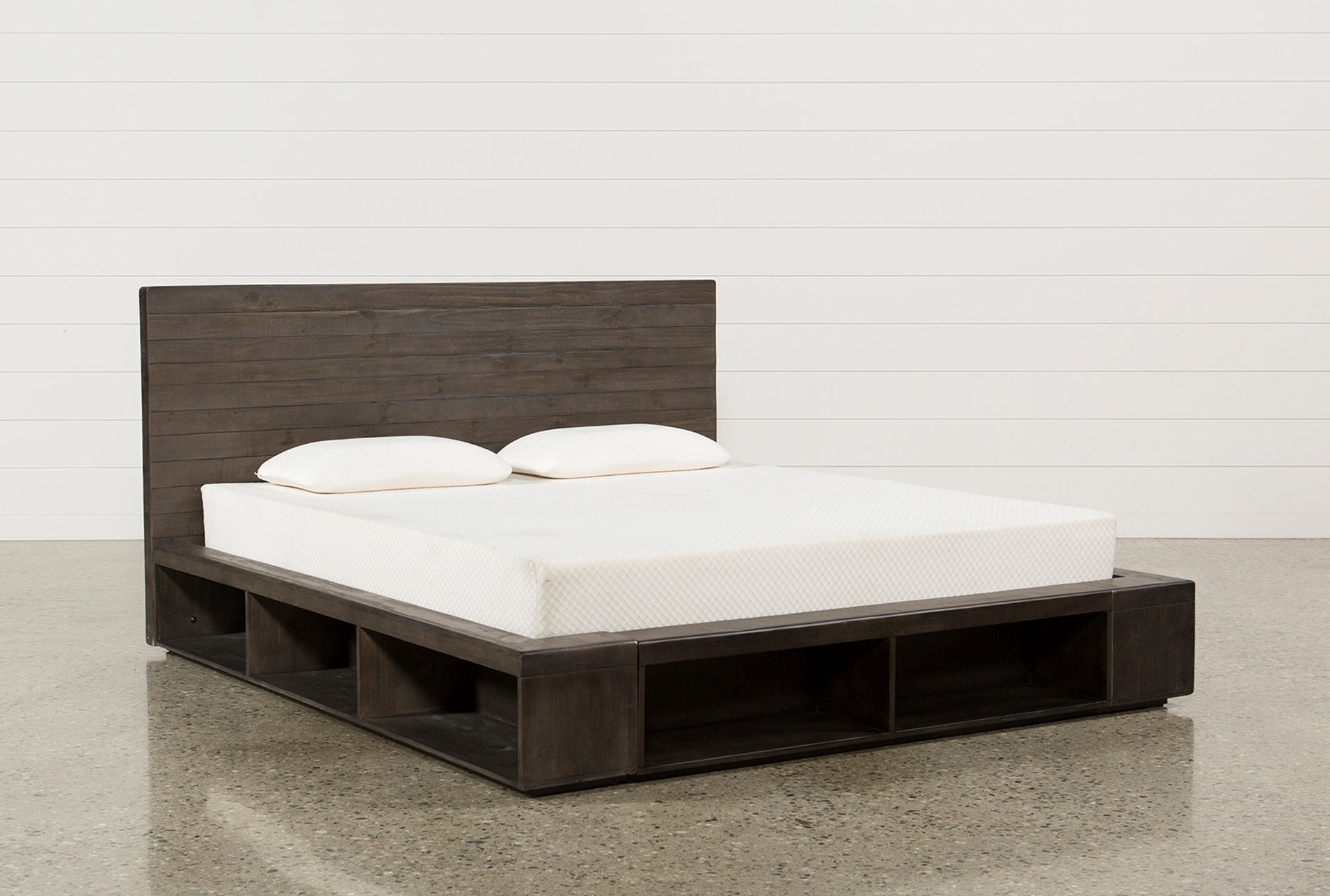 California King Wood Bed