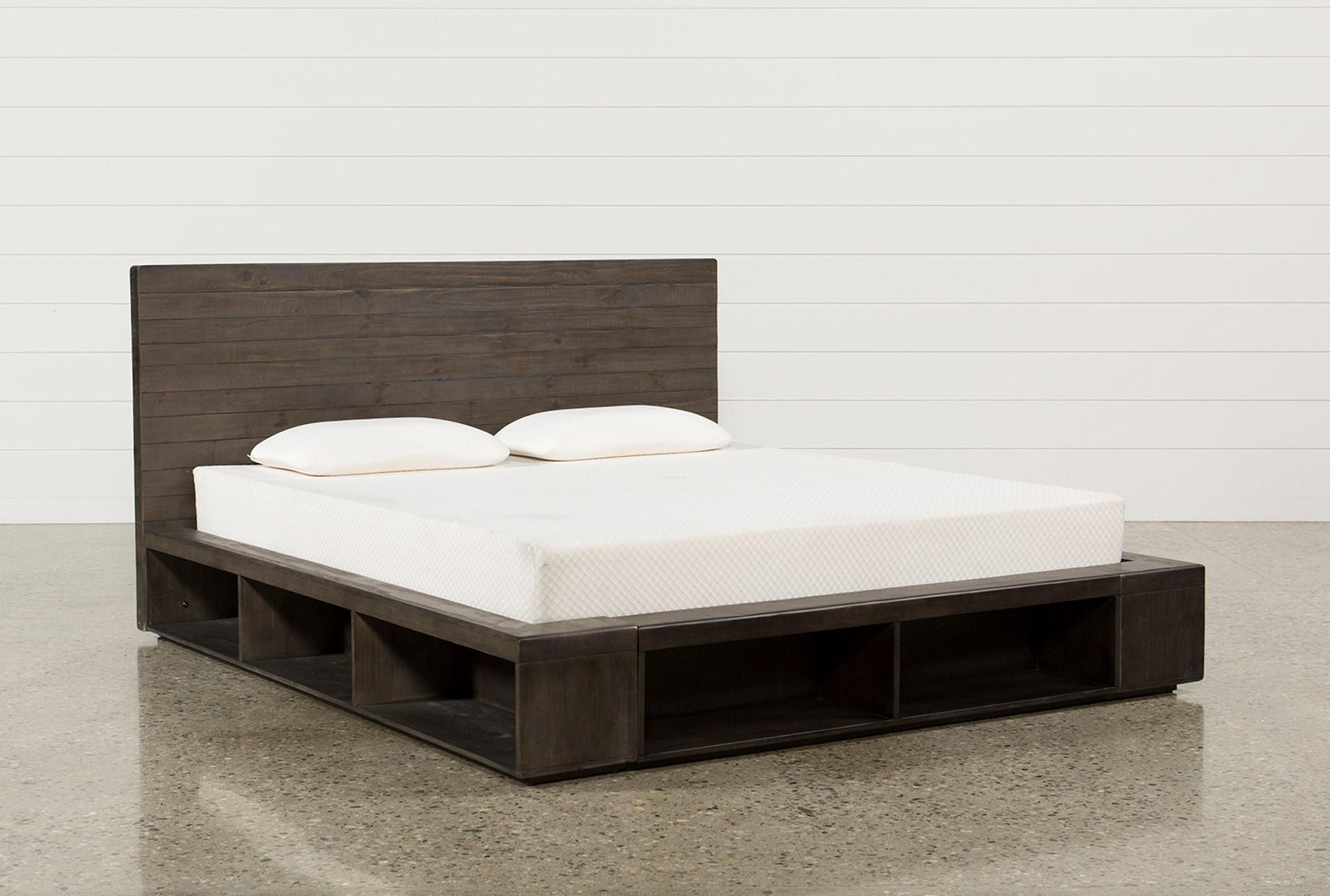 Dylan Eastern King Platform Bed Living Spaces
