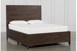 Rowan California King Panel Bed With Storage