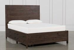 Rowan Eastern King Panel Bed With Storage
