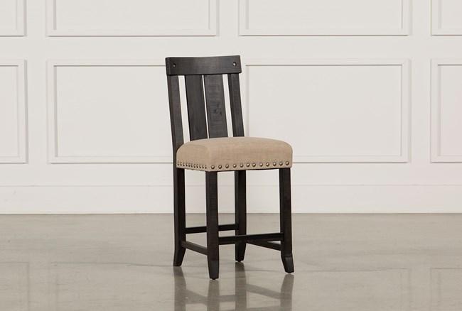 Jaxon Wood Counterstool - 360