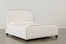 Sophia California King Upholstered Panel Bed