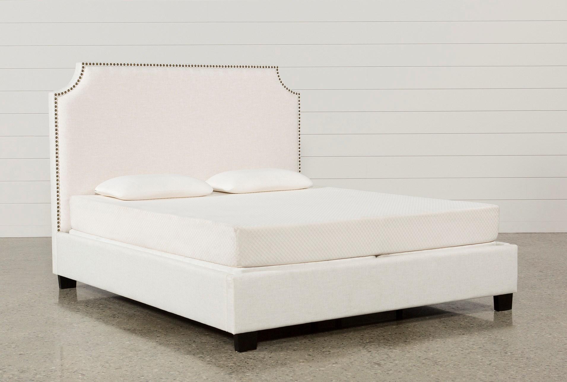 Sophia California King Upholstered Platform Bed | Living Spaces