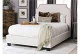 Sophia Eastern King Upholstered Platform Bed - Room