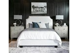 Sophia Queen Upholstered Platform Bed - Room