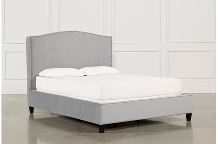 Kate Dove Full Upholstered Bed - Main