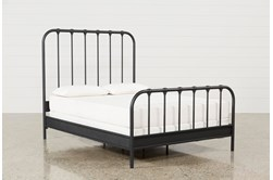 Knox Queen Metal Panel Bed