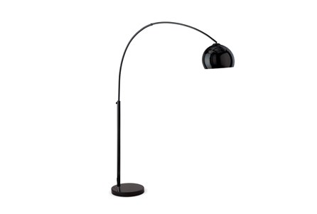 Floor Lamp-Bellina Arc Matte Black