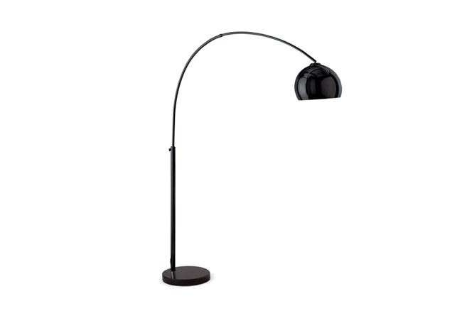 Floor Lamp-Bellina Arc Matte Black - 360