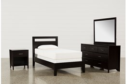 Milton Twin 4 Piece Bedroom Set