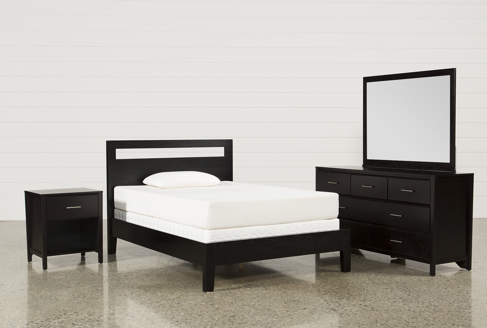Milton Full 4 Piece Bedroom Set