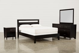 Milton Eastern King 4 Piece Bedroom Set