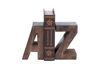 8 Inch Wood Bookend