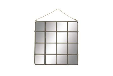 Mirror-Wood Wall 47X60