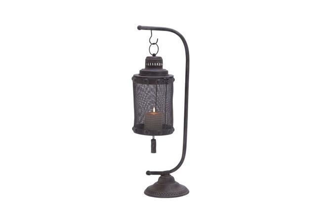 28 Inch Metal Lantern - 360