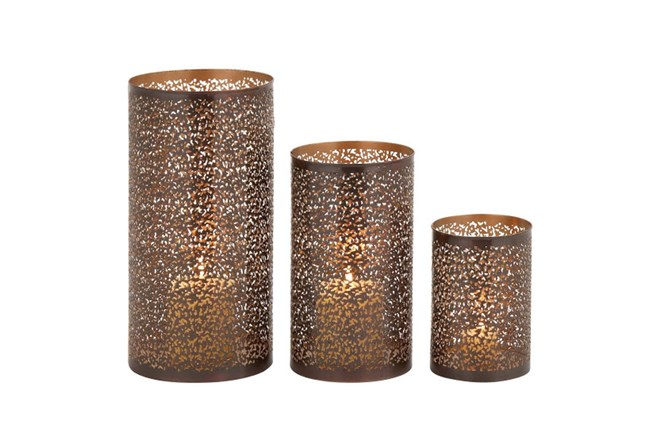 3 Piece Set Metal Hurricanes - 360
