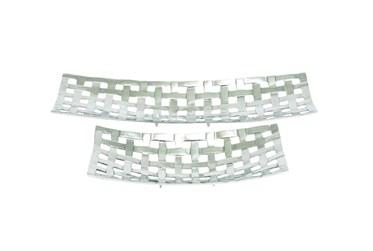 2 Piece Set Aluminum Trays