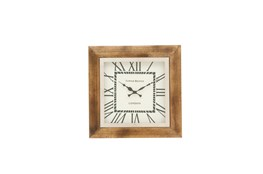 16 Inch Steel Wood Wall Clock