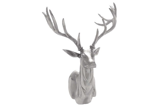 23 Inch Aluminum Trophy Head - 360