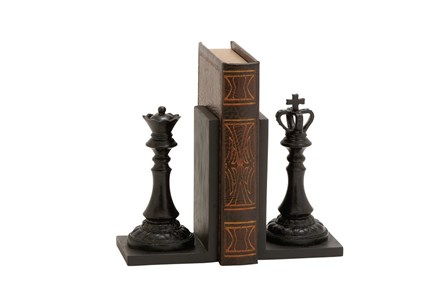 8 Inch Chess Bookend