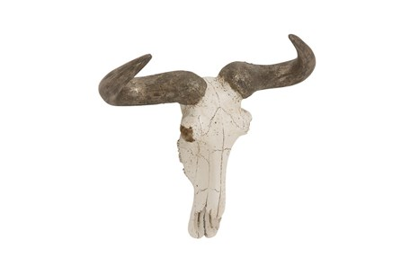 12 Inch Wall Steer Skull - Main