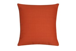 Outdoor Accent Pillow-Melon Solid 18X18