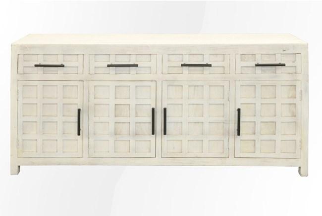 White Wash 4-Door/4-Drawer Sideboard - 360