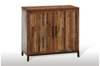 "Vintage Finish 2-Door 40"" Server"