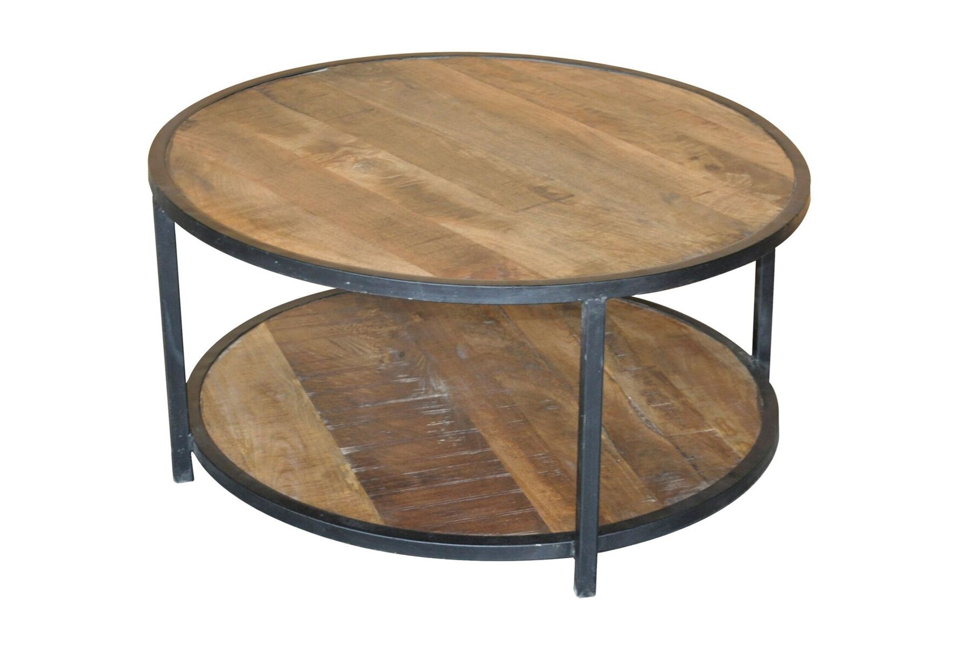 Sawan Finish 36 Inch Round Coffee Table Living Spaces