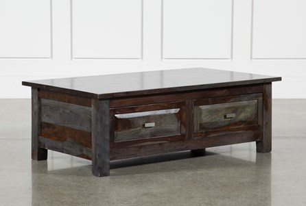 Pacific Steel 4-Drawer Coffee Table