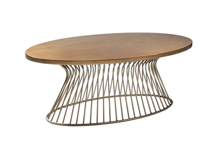 Antique Bronze Coffee Table - Main