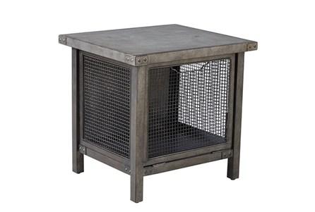 Patina Concrete & Mesh End Table