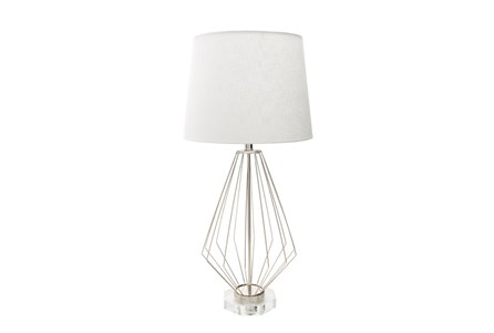 Table Lamp-Geometric Wire
