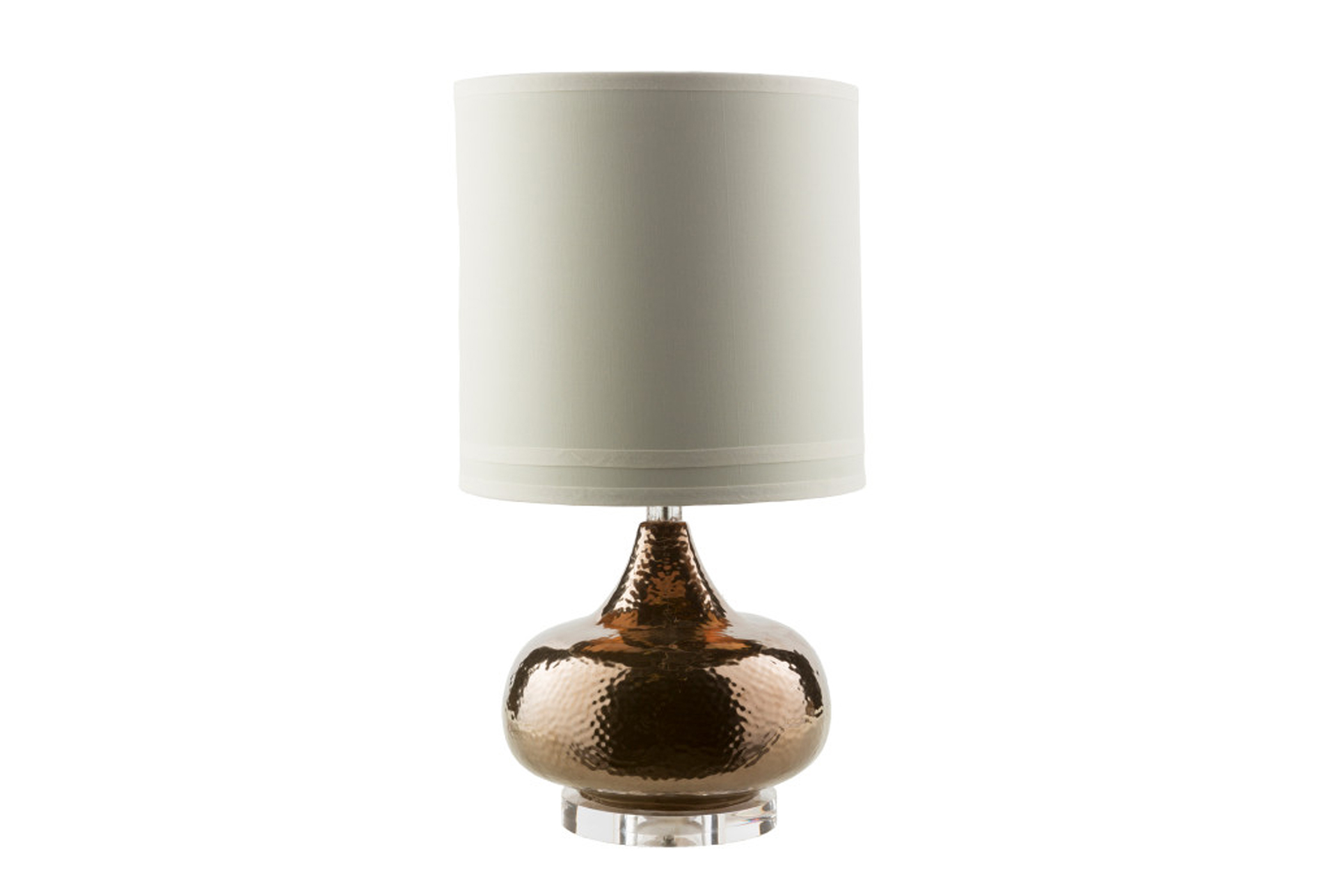 Table Lamp Hammered Bronze   360