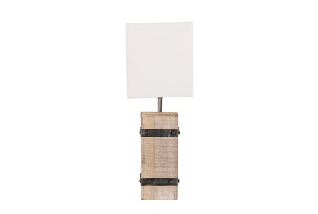 Table Lamp-Railroad Tie