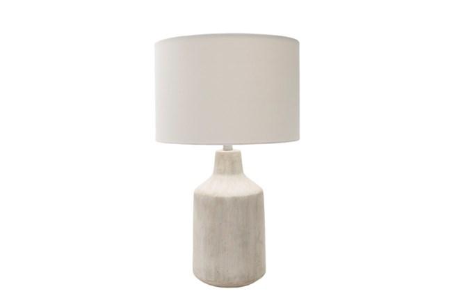 Table Lamp-Concrete Drum Light - 360