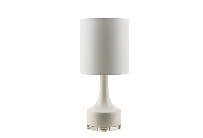 Table Lamp-Contempo White - 360