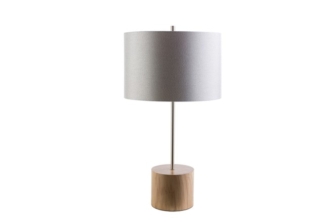 Table Lamp-Century Wood - 360