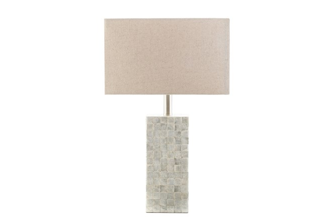 Table Lamp-Capiz Shell Tall - 360