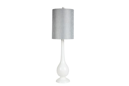 Table Lamp-Retro White